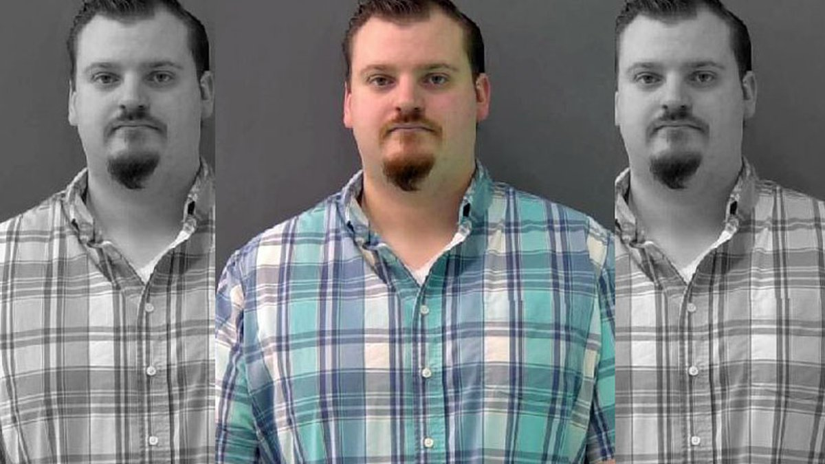 Ex-corrections officer Clinton Stovall was arrested after reporting to the sheriff's department...