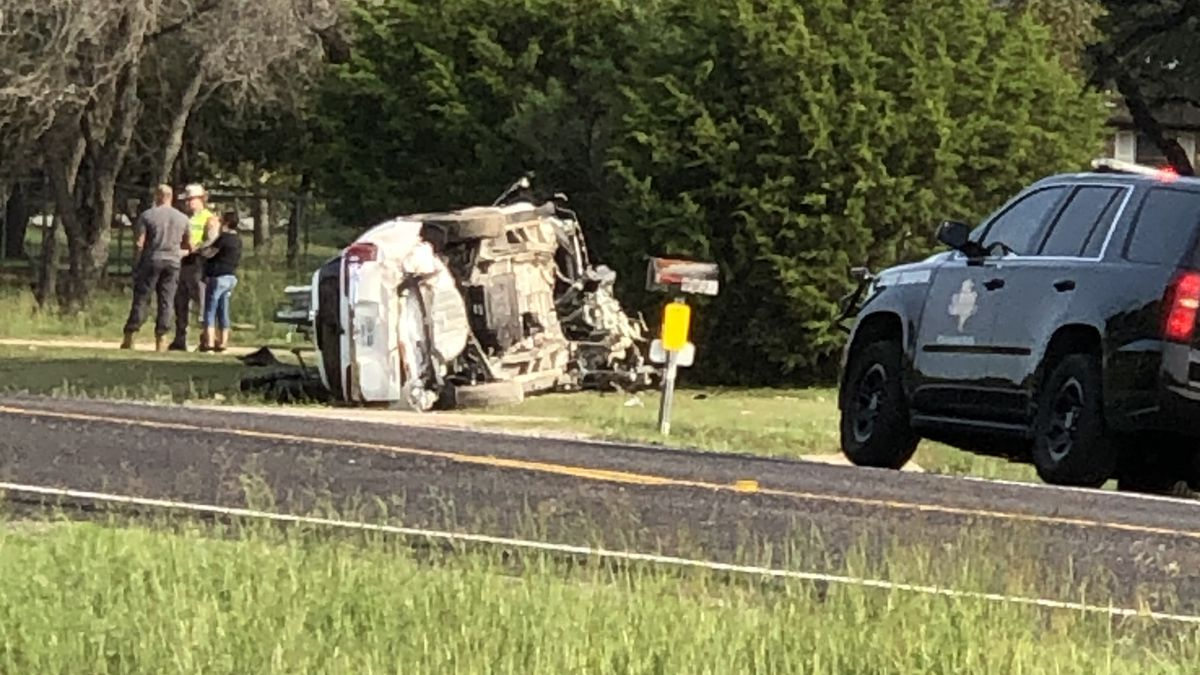 Driver fatigue appears to be behind a rollover crash in Lampasas County, according to state troopers.