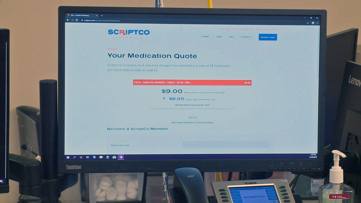 A new online pharmacy has opened up in a West Waco storefront that aims to save consumers money...