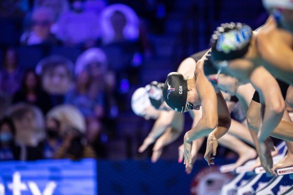 Madisyn Cox at the U.S. Olympic Trials.