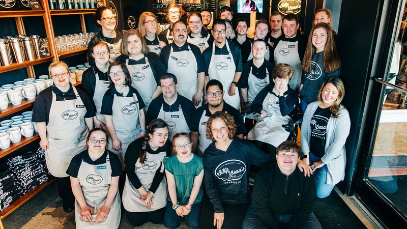 Bitty & Beau's Coffee, a national chain that employ workers with intellectual and developmental...