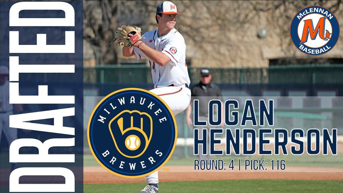 Logan Henderson drafted by the Brewers