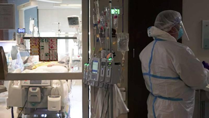 File Photo: COVID-19 patient on a ventilator