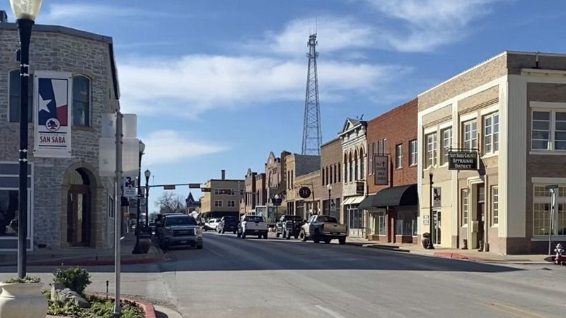 San Saba was one of the last counties in the state in which a resident tested positive for the...