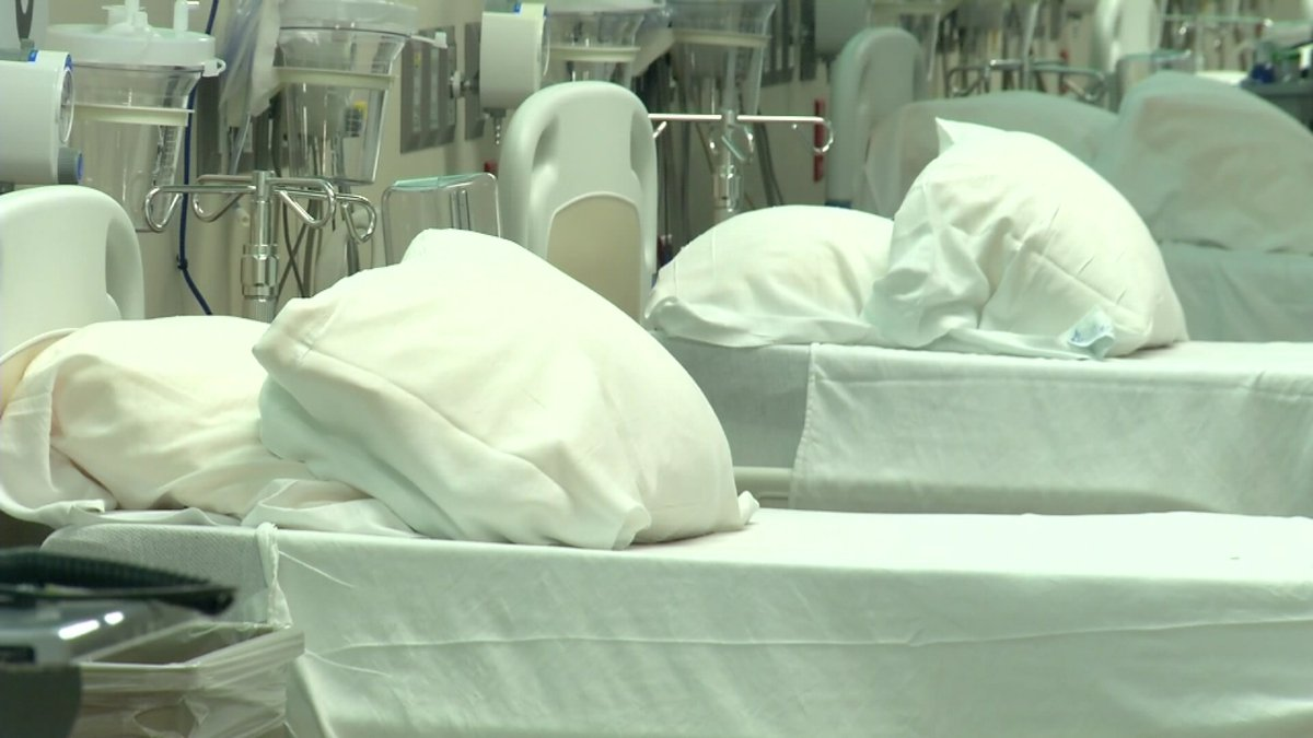The number of patients with COVID-19 who are hospitalized in Central Texas is rising. (File)