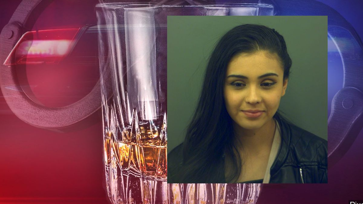 Police in El Paso charged Lexis Croydill with driving while intoxicated over .15.