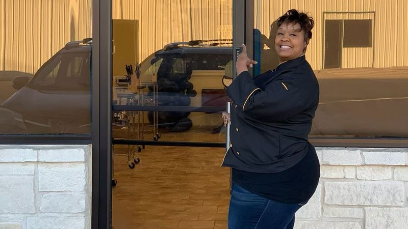 Natasha Jarmon is getting ready to open a business called The Heir's Table, which will offer...