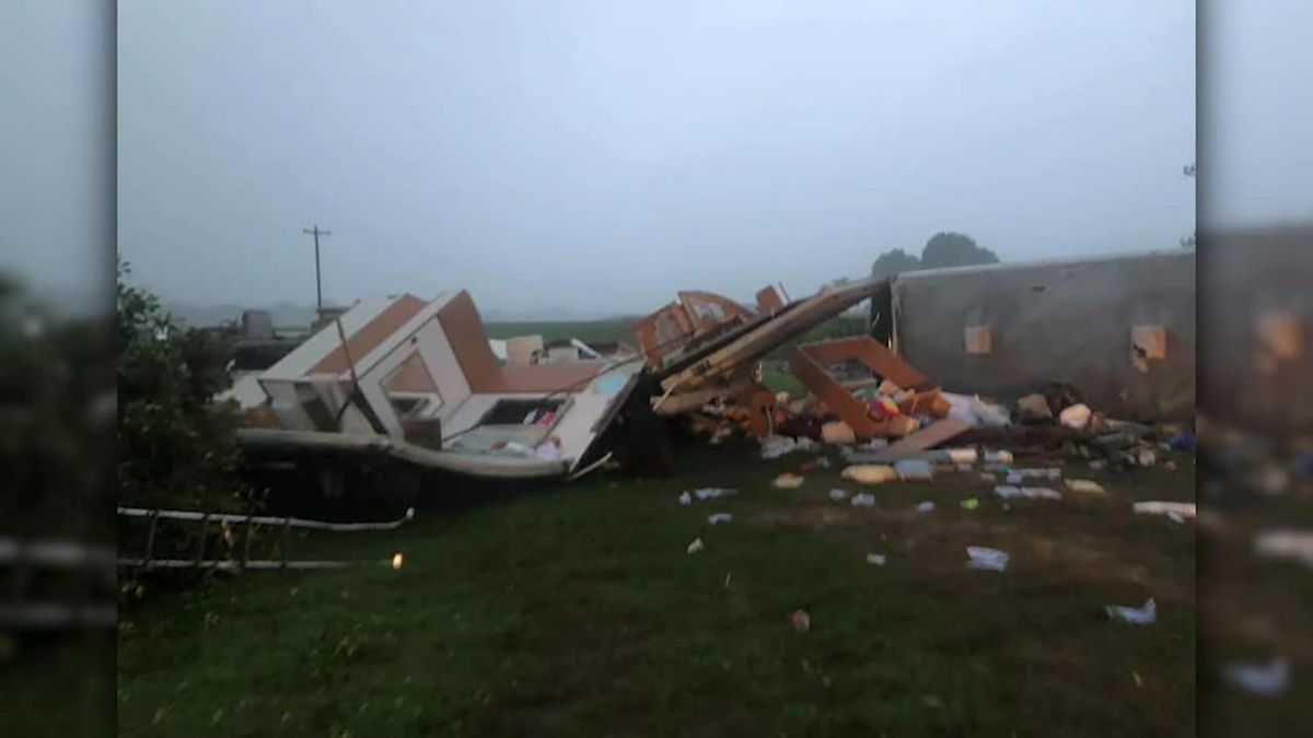 Four people are dead as Tropical Storm Isaias spawns tornadoes and dumps rain during an inland march up the U.S. East Coast.