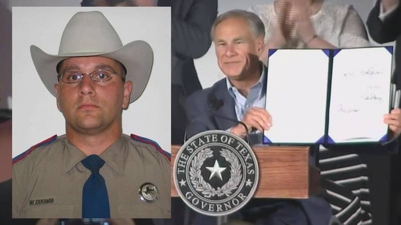 Governor Abbott Monday signed Senate Bill 6, the Damon Allen Act, into law at the Texas Pastor...