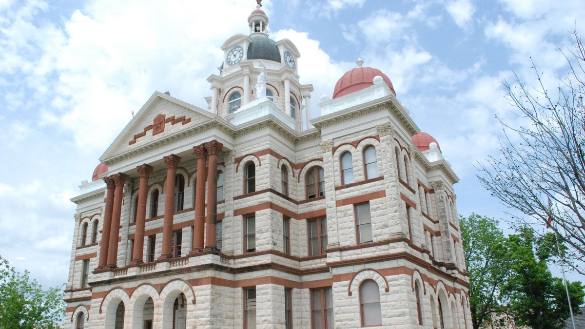 The Coryell County Courthouse.  (Photo by Paul J. Gately)
