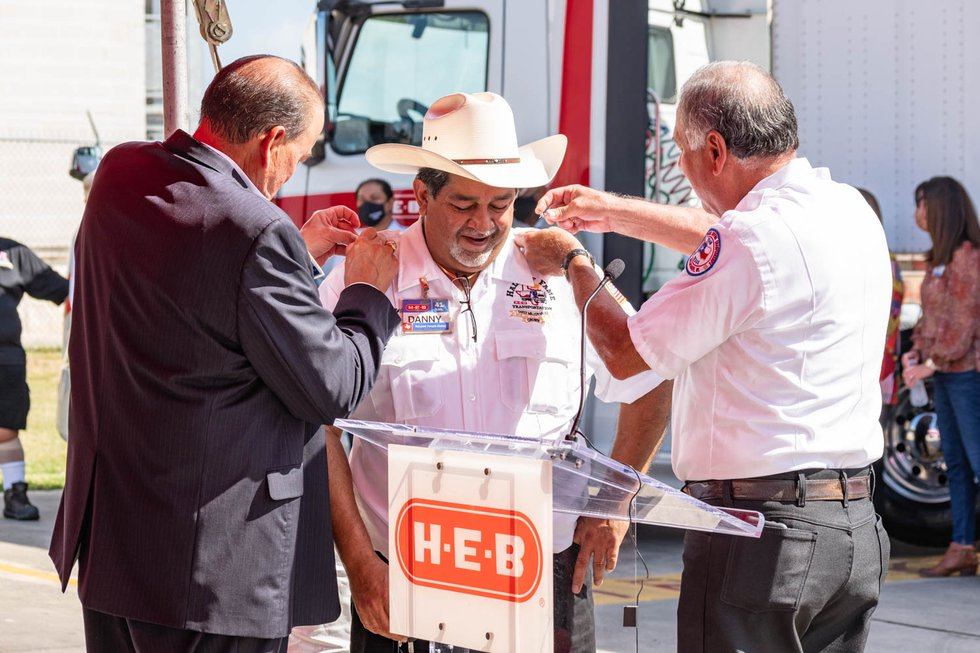 It took Guerrero nearly 40 years to reach the milestone, an achievement only one other H-E-B...