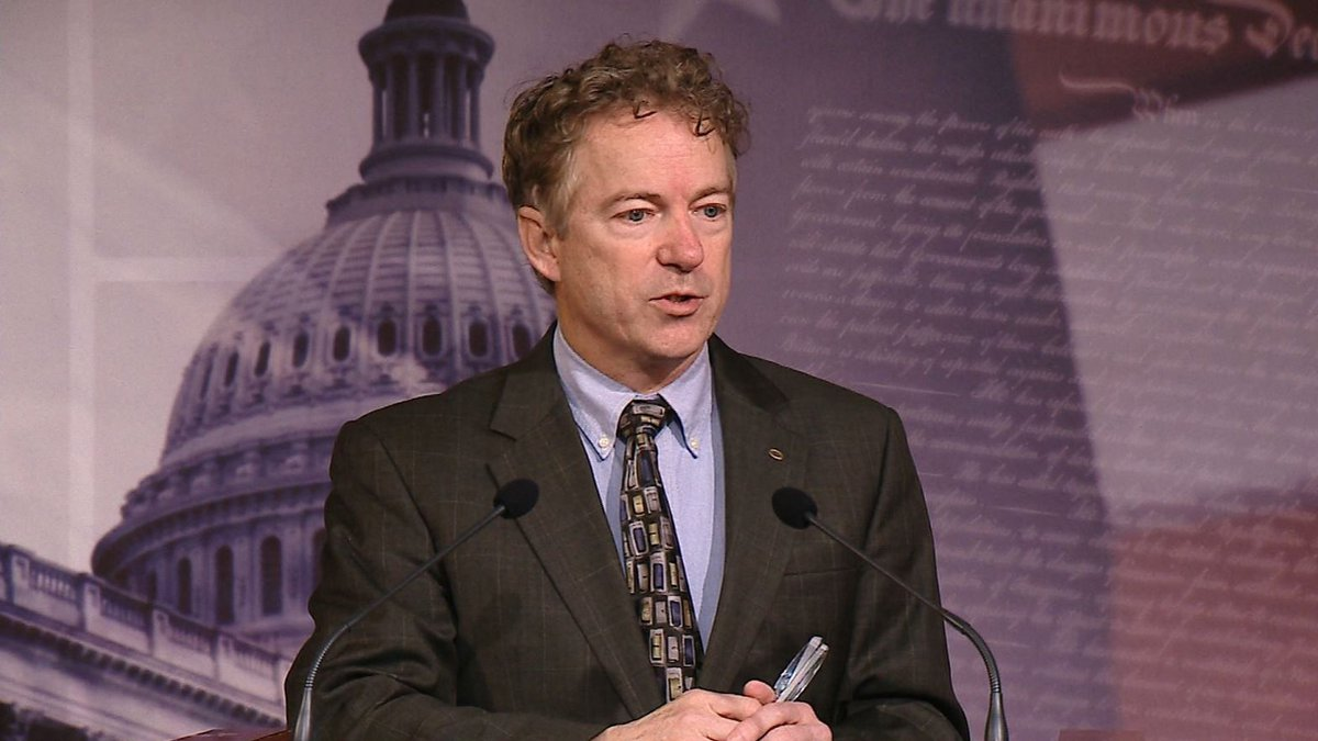 Sen. Rand Paul revealed in a late financial disclosure that his wife bought stock in the...