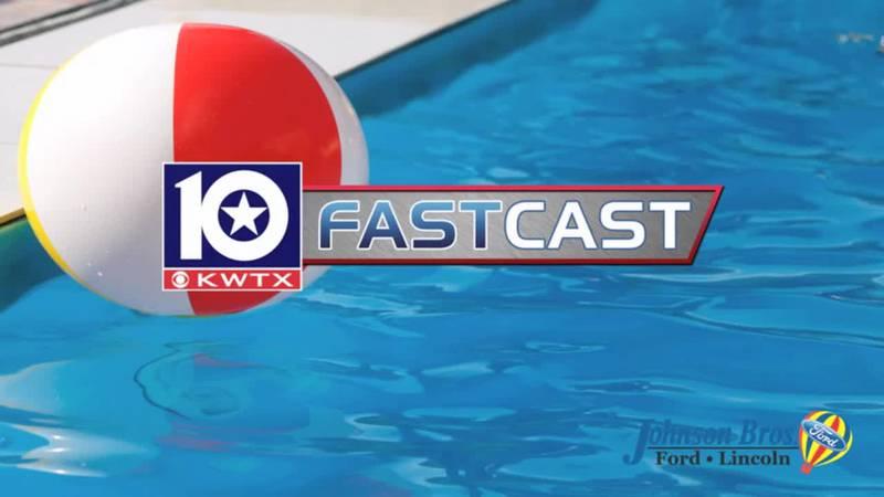 fastcast summer heat hot pool swimming sweat