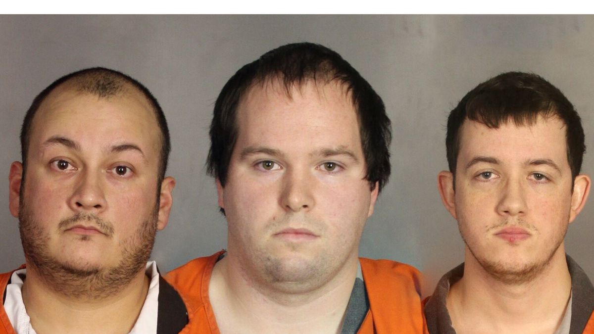 Milton Walker (left), Christopher Simpson (center), and Michael Crittenden. (Jail photos)