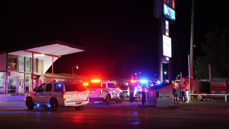 A man was found dead from an apparent gunshot at the Liberty 6 Motel located at 529 E. Veterans...