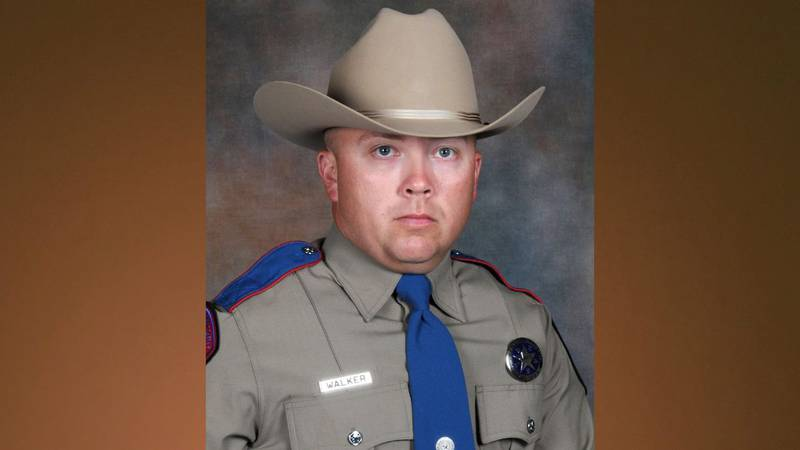 Policía estatal de Texas Chad Walker