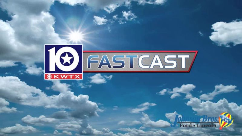 fastcast partly cloudy sun