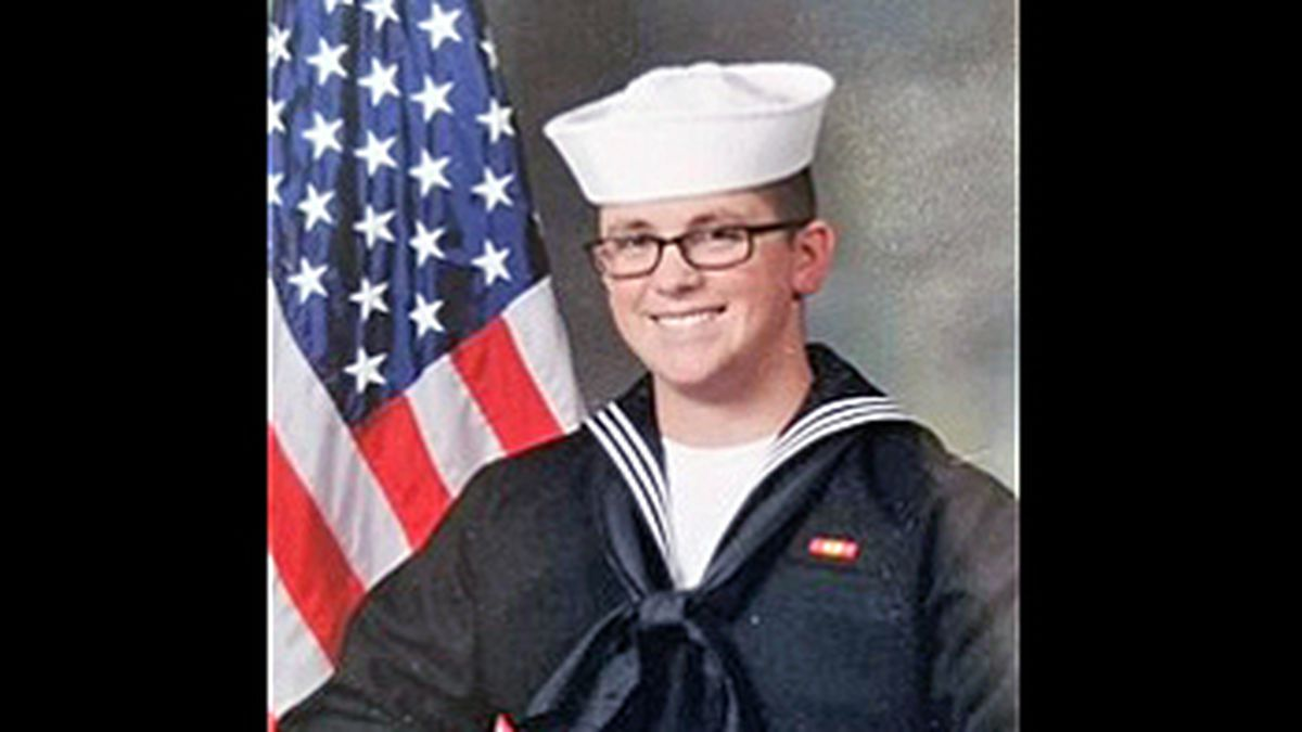 Electronics Technician 3rd Class John Henry Hoagland III.  (Funeral home photo)