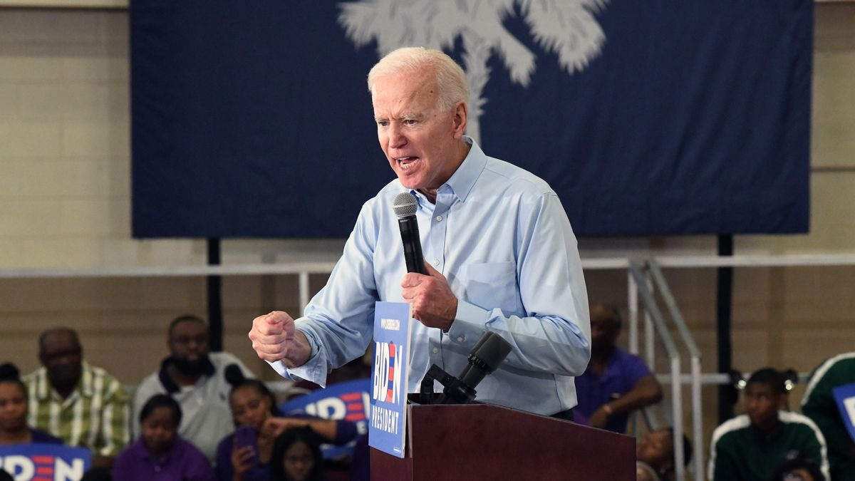 "Joe Biden says President Donald Trump has a ""lot to answer for"" amid reports that he was advised as early as March 2019 of intelligence that suggested Russia was offering bounties to the Taliban for the deaths of Americans.  (AP Photo/Meg Kinnard/file)"