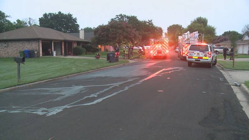 Waco fire officials are investigating a possibly suspicious fire that damaged a home Tuesday...