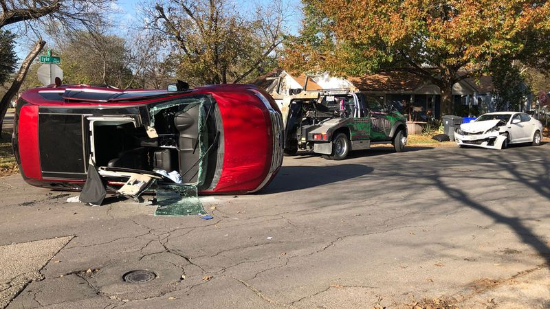Three people were taken to a local hospital Wednesday after a collision in North Waco that left...