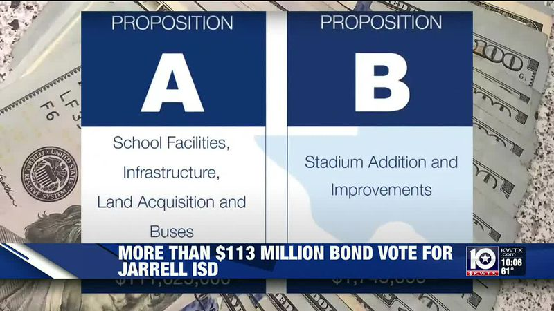 Jarrell ISD Bond Propositions