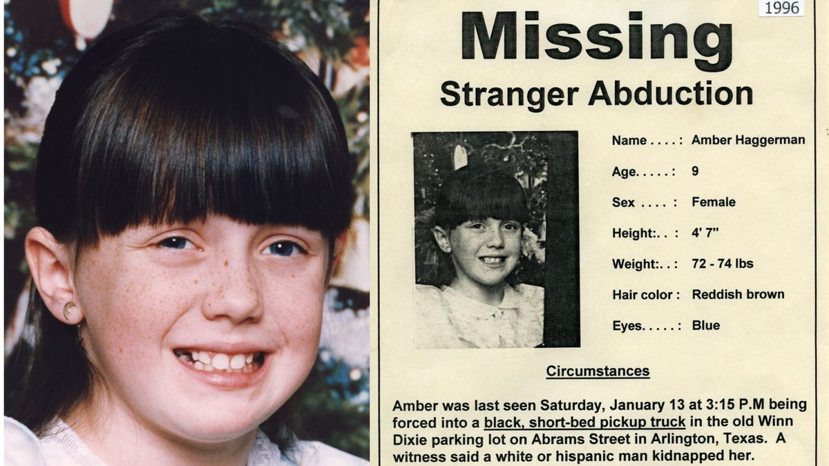 Today marks 25 years since 9-year-old Amber Hagerman was abducted and murdered in Arlington in...