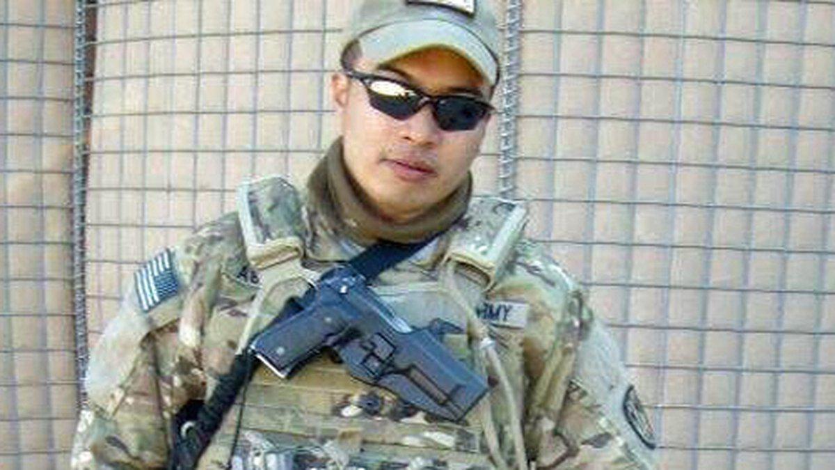 Sgt. Calvin Wenceslao Aguilar. (Fort Hood photo)