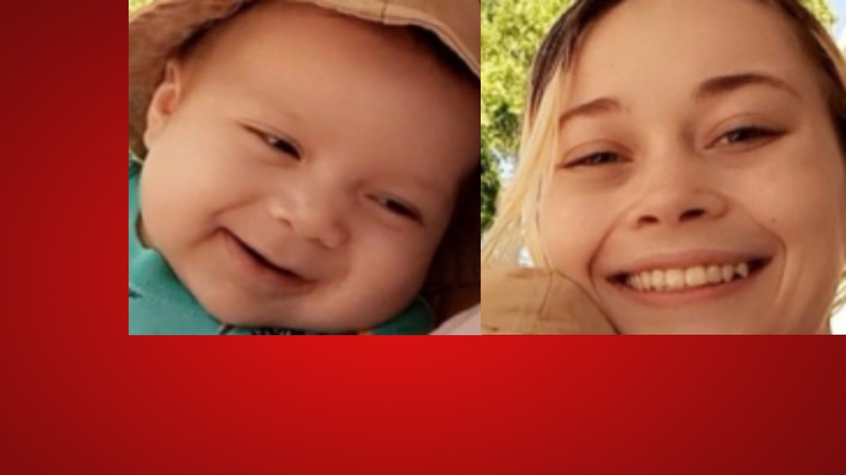 Authorities think 7-month-old Miguel Ramirez is with Faith Field, 20.(Texas DPS)