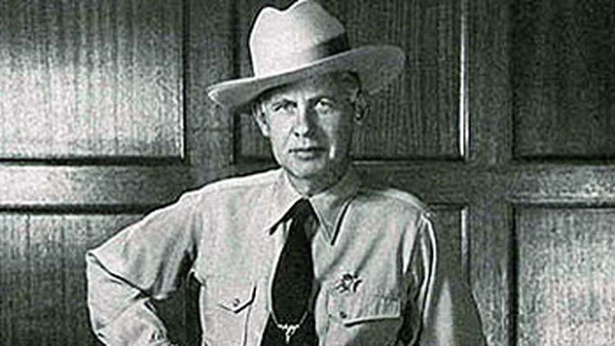 """M. T. """"Lone Wolf"""" Gonzaullas. (Texas Ranger Hall of Fame/file)"""