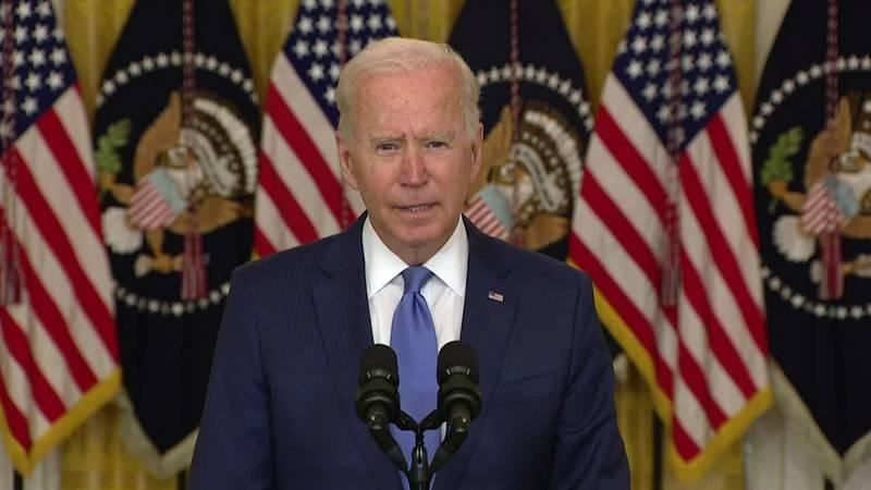 "President Joe Biden wants big corporations to pay their ""fair share"" of taxes."