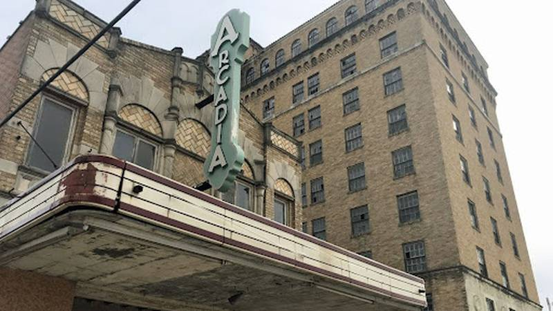FILE PHOTO:  Temple's historic Hawn Hotel and Arcadia Theater