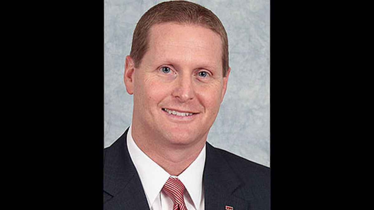 The Big 12 Conference Wednesday issued a public reprimand and fined Texas Tech athletic director Kirby Hocutt $25,000 (Texas Tech Athletics / Michael Strong)