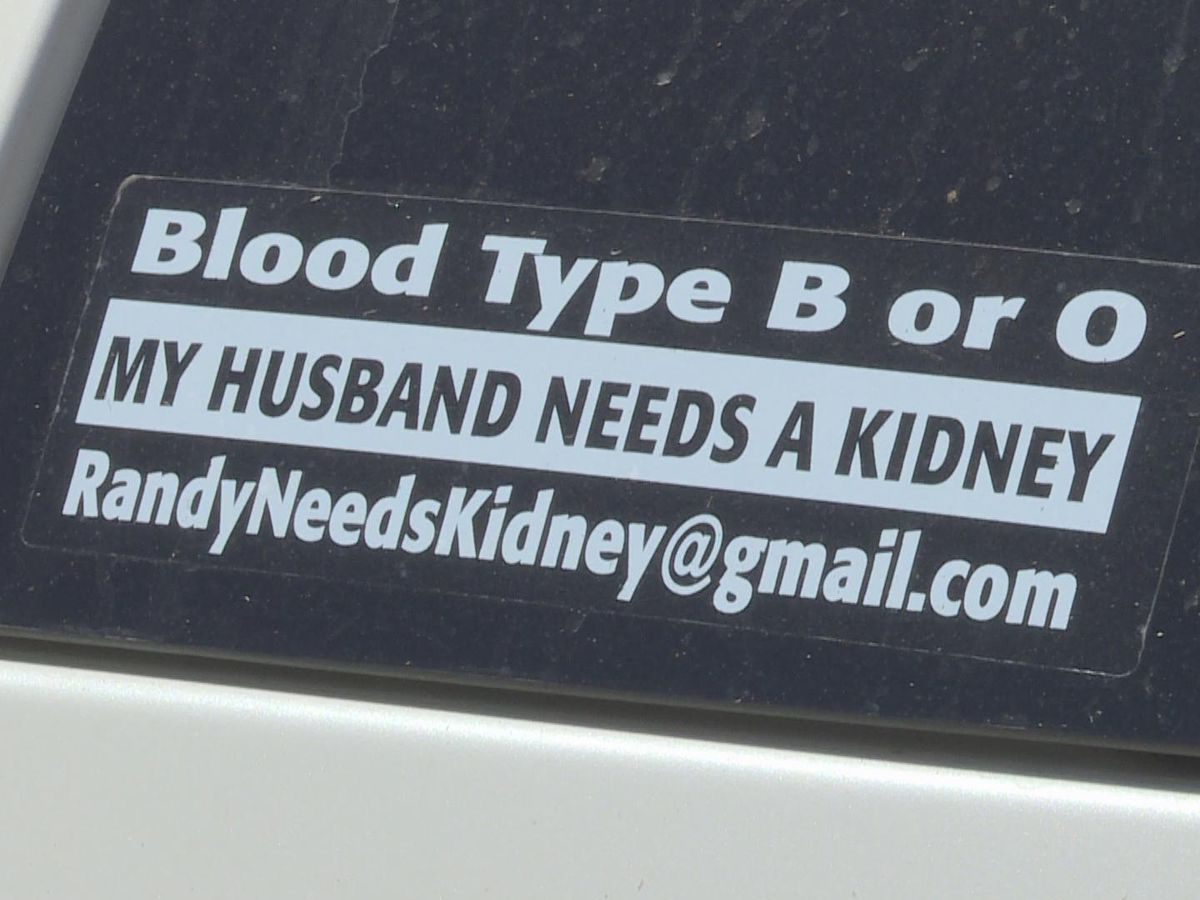 Lorena Family Using Car Stickers To Find Possible Kidney Donors [ 900 x 1200 Pixel ]