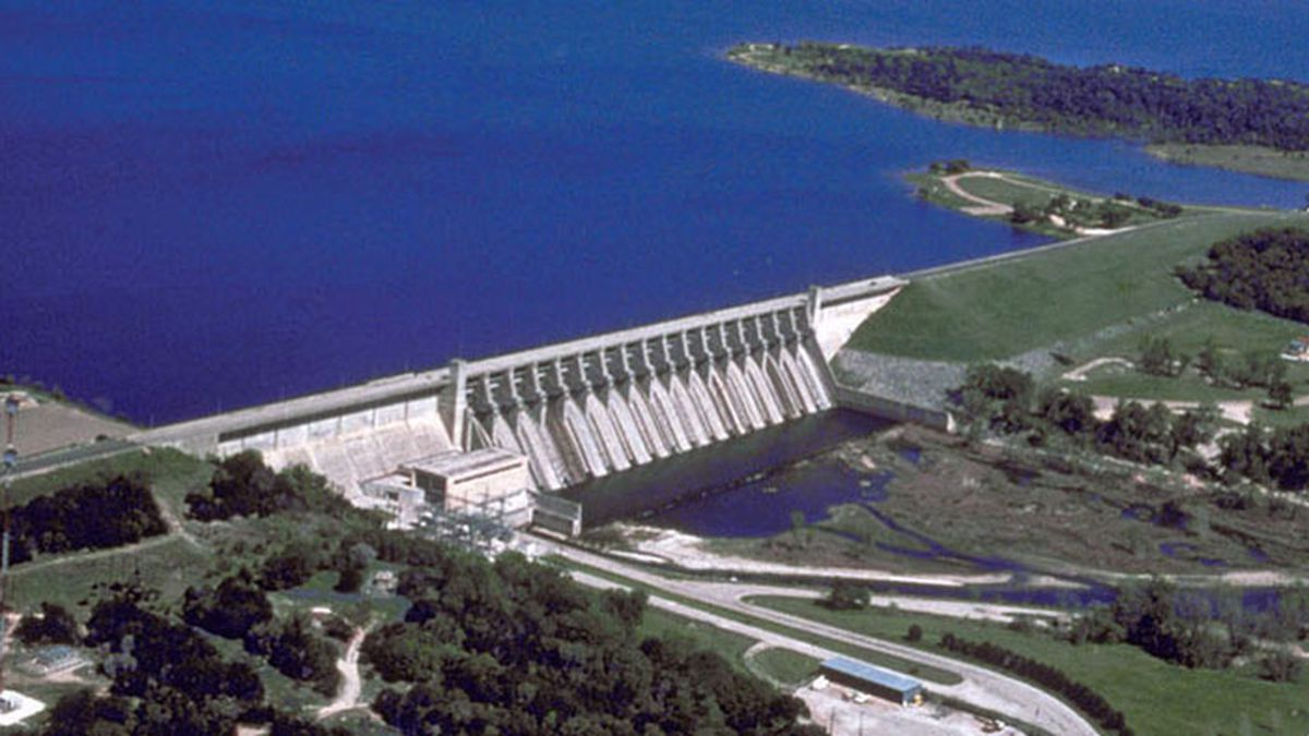 Lake Whitney Dam (U.S. Army Corps of Engineers photo/file)