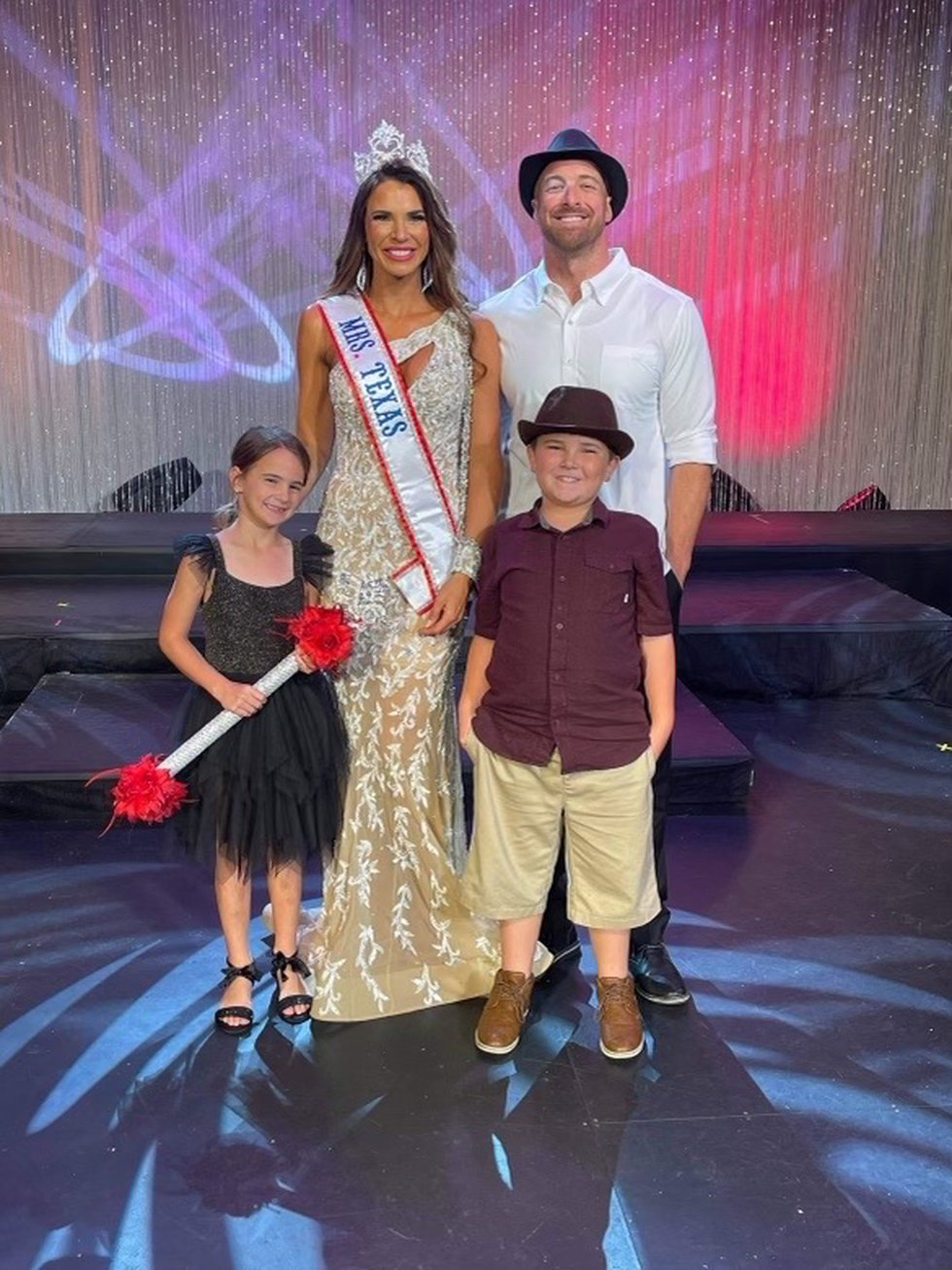Mrs. Texas is the only Texas pageant dedicated to married women. Beard is married to Jody Beard...