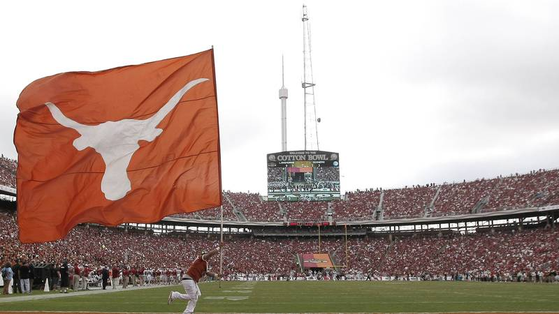 Texas and Oklahoma submit a formal request to join the Southeastern Conference. (AP...