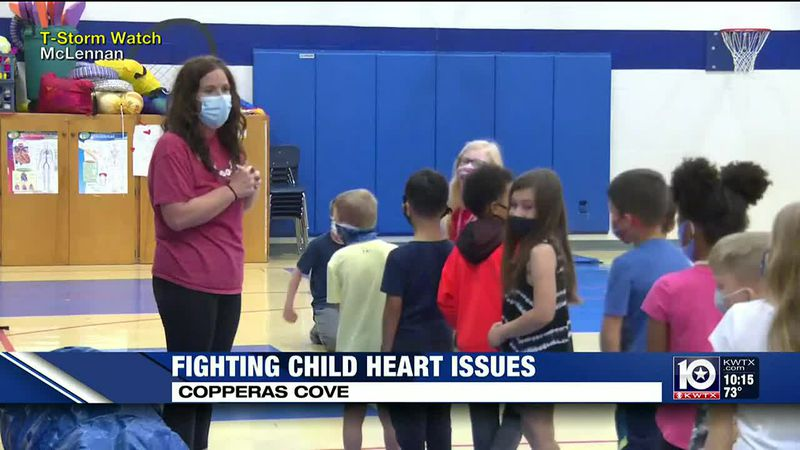 Students and staff at Martin Walker Elementary School in Copperas Cove are raising money with...
