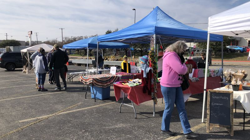 COVID-19 and the weather didn't stop a handful of vendors from participating in the Pioneer...