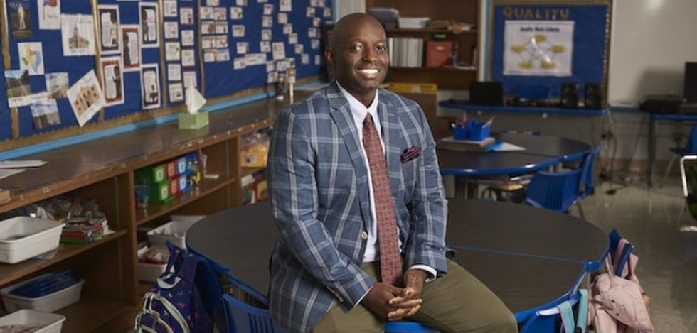 First African-American named 2021 Texas Teacher of the Year.