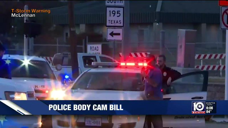 State lawmaker proposes changes to police video recording policies in Texas
