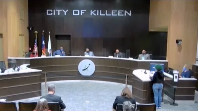 Killeen resident Raven Tilly addressed Killeen City Council members Tuesday after a deadly...