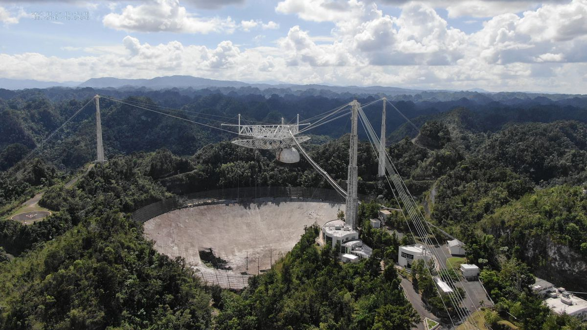 The National Science Foundation says it will close the telescope at the renowned Arecibo...