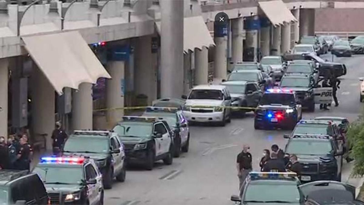 San Antonio Police confirmed an officer-involved shooting at the airport.