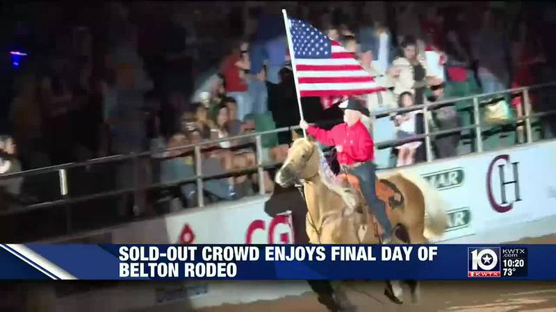 Night 3 of the Belton Independence Day Rodeo 2021