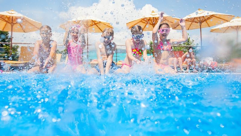 There are plenty of places in Central Texas to take a plunge or enjoy a spray park.