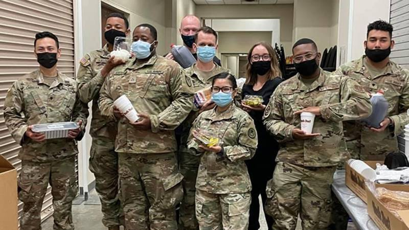 The soldiers will leave Waco at the end of the week, but thanks to the big hearts of those who...