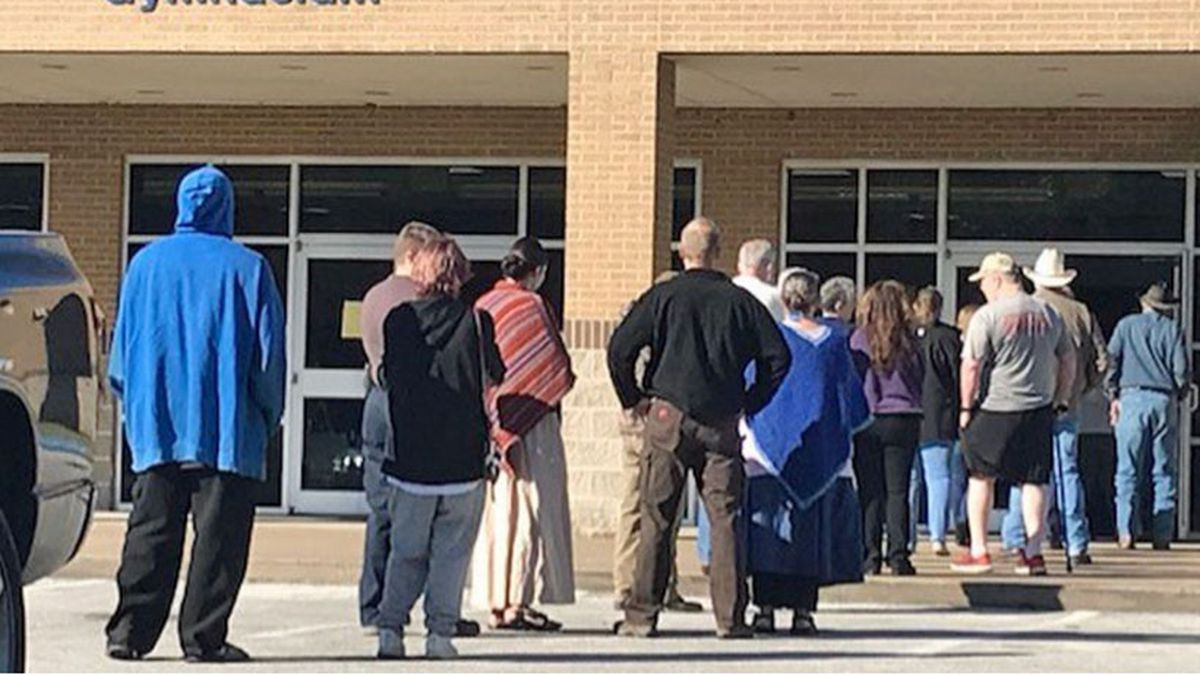 Polling issues were reported at several of the county's voting locations on Tuesday morning.