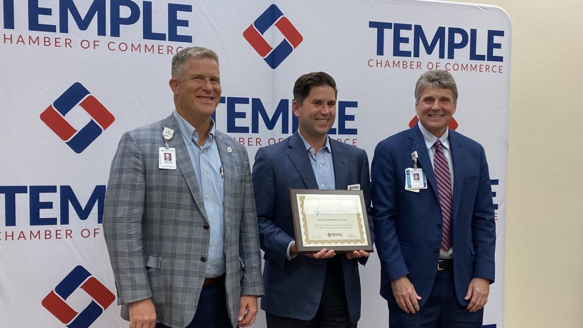 Baylor Scott & White Medical Center in Temple was just ranked as the #2 major teaching hospital...