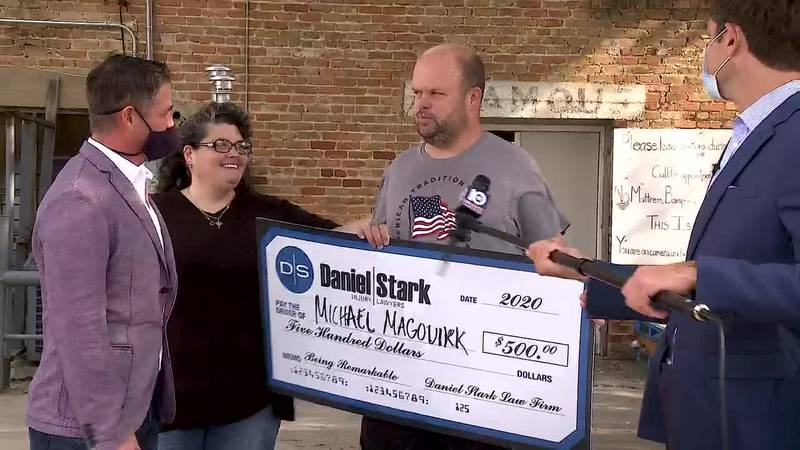 A resident of Marlin, Kalmbach nominated Magouirk for this week's Daniel Stark and KWTX 'Be...